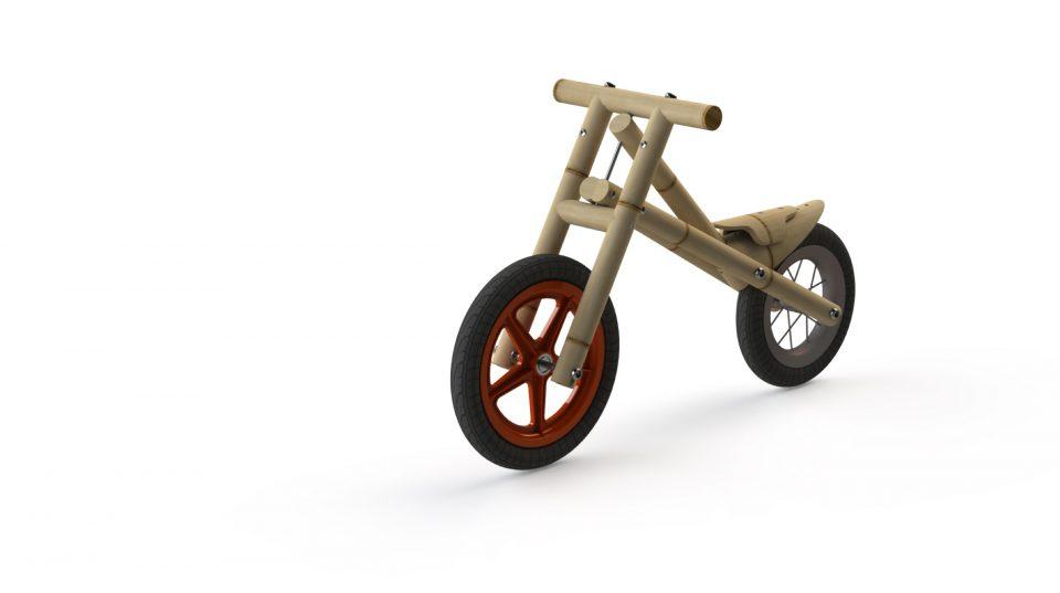 Bamboo bike for kids