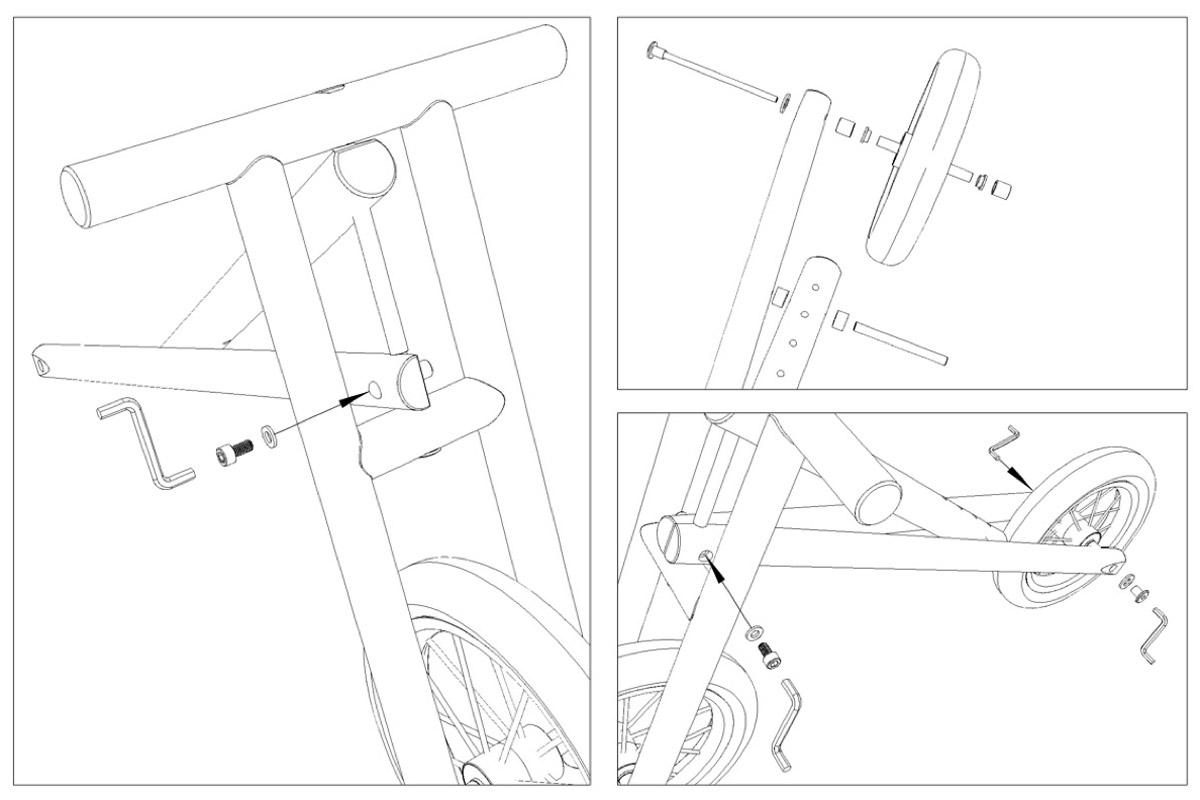 assembly drawing - kaboogabike