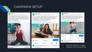 presentation slide FB campaign setup